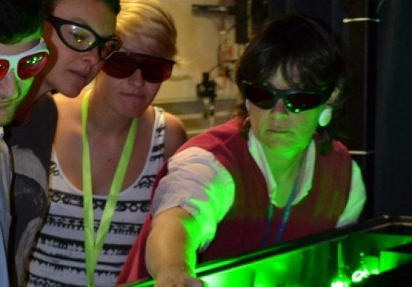 Lasers solve dairy sperm problem